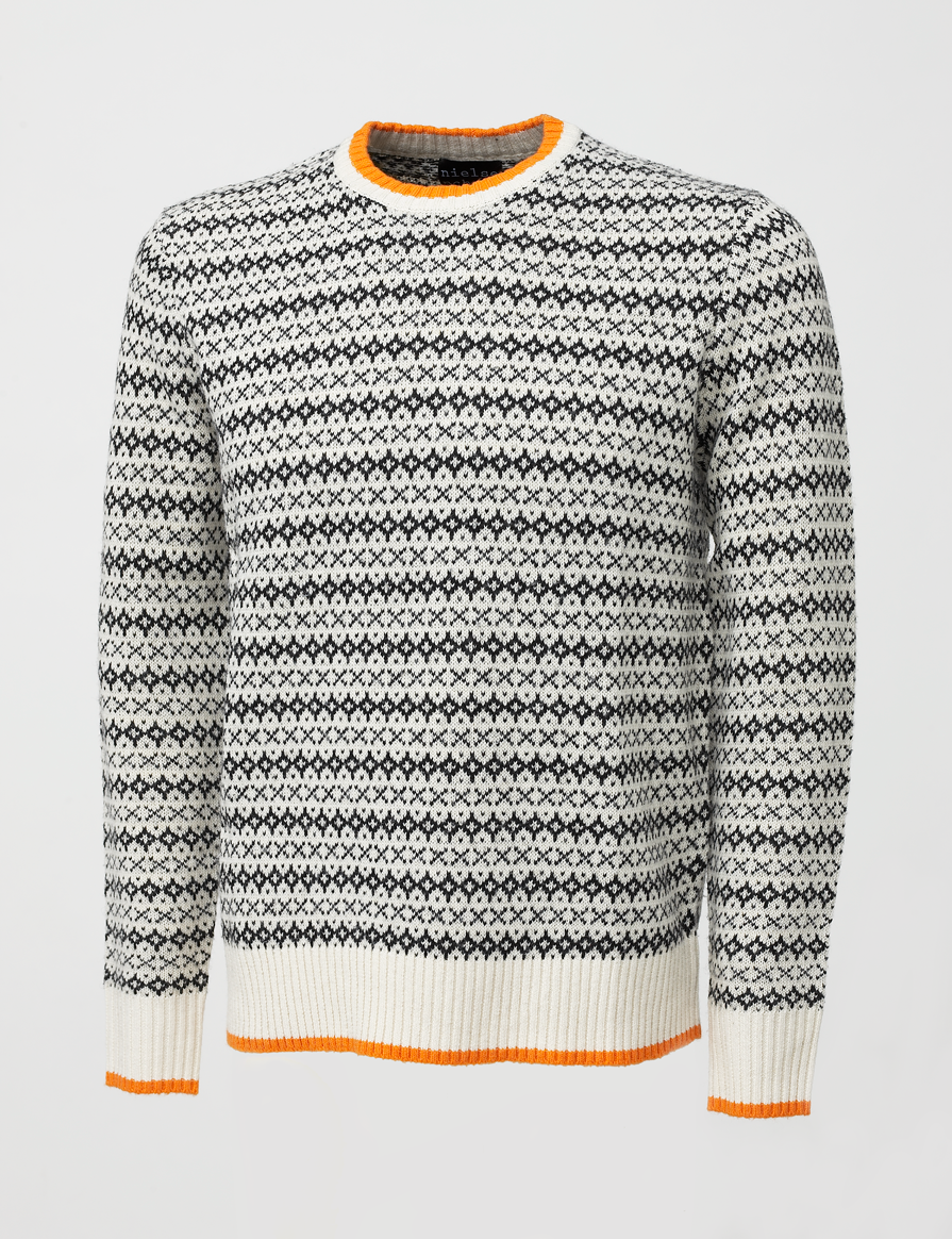Knit XO men Ivory