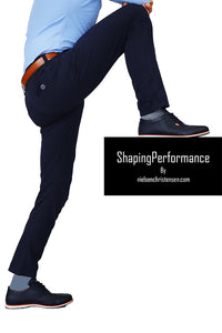 Shaping Performance Chinos Navy