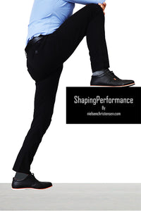 Shaping Performance Chinos Black