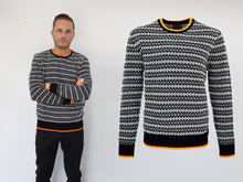 Load image into Gallery viewer, Knit XO men black