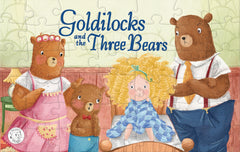 Goldilocks and the Three Bears Augmented Reality Puzzle Little Hippo