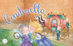 Cinderella Augmented Reality Puzzle Little Hippo