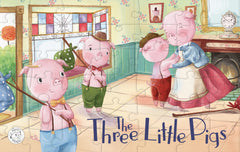 Three Little Pigs Augmented Reality Puzzle Little Hippo