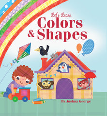 Little Hippo Books Learn Colors Shapes