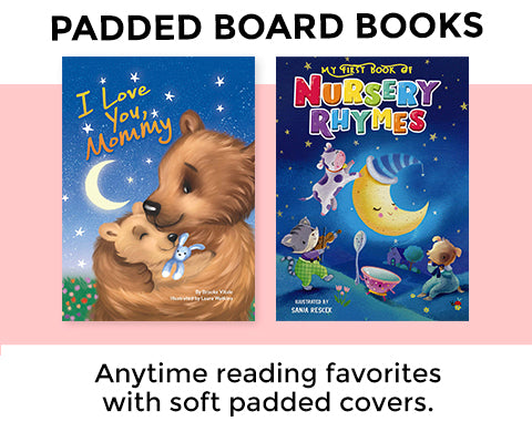 Little Hippo Padded Board Books for Boys and Girls Kids Stories About Family Love Friendship Learning