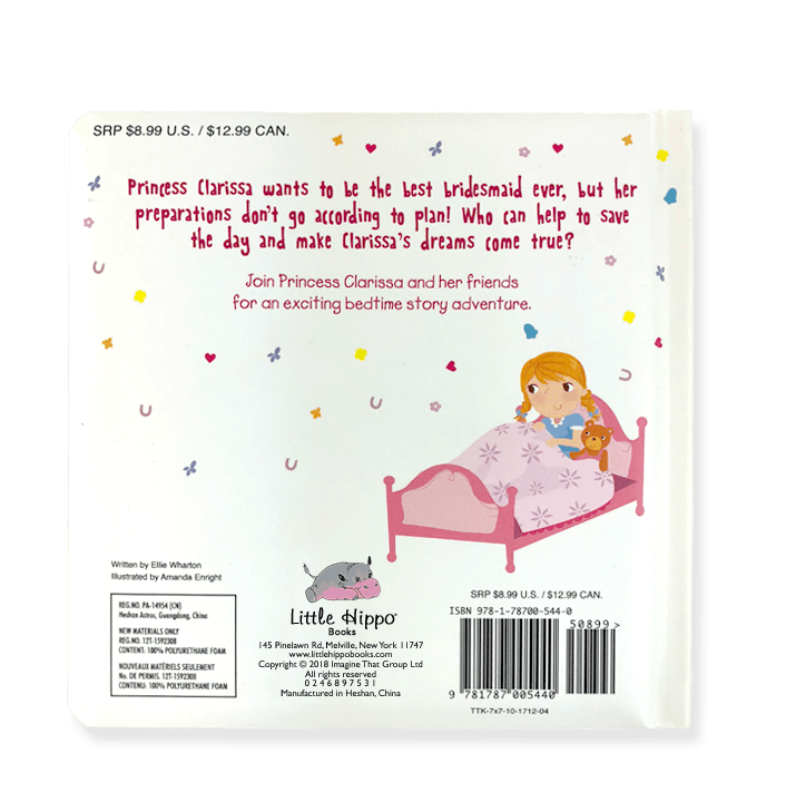 Little Hippo Little Princess storybook