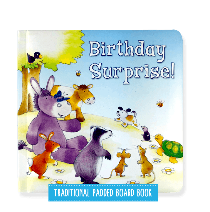 Birthday Surprise! Padded Board Book