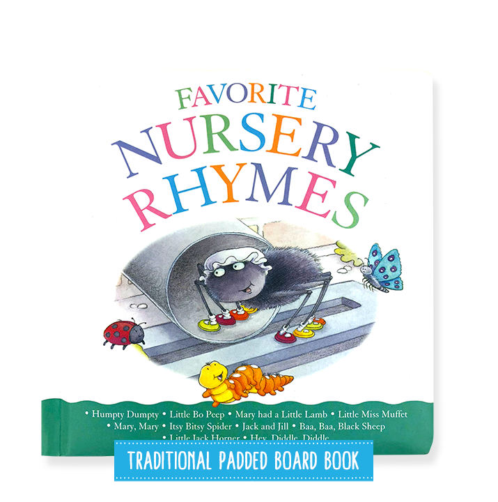 Little Hippo Favorite Nursery Rhymes children's book