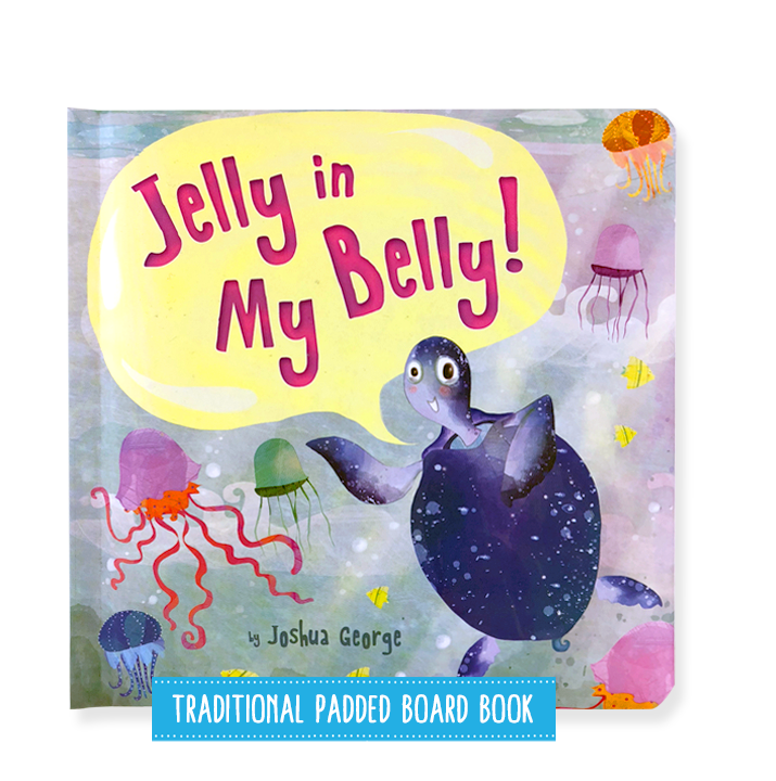 Little Hippo Books Jelly Belly Jellyfish children's book