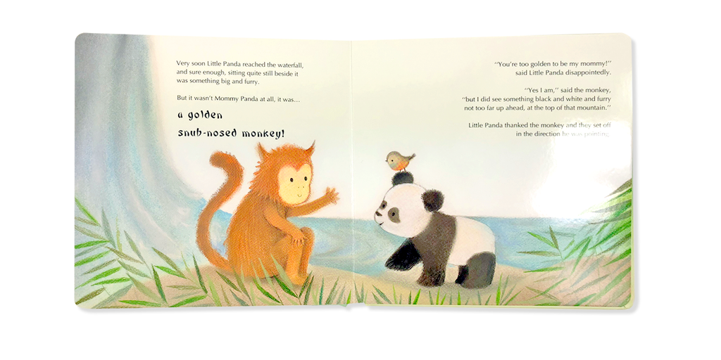 Little Hippo Books Lost Panda children's book
