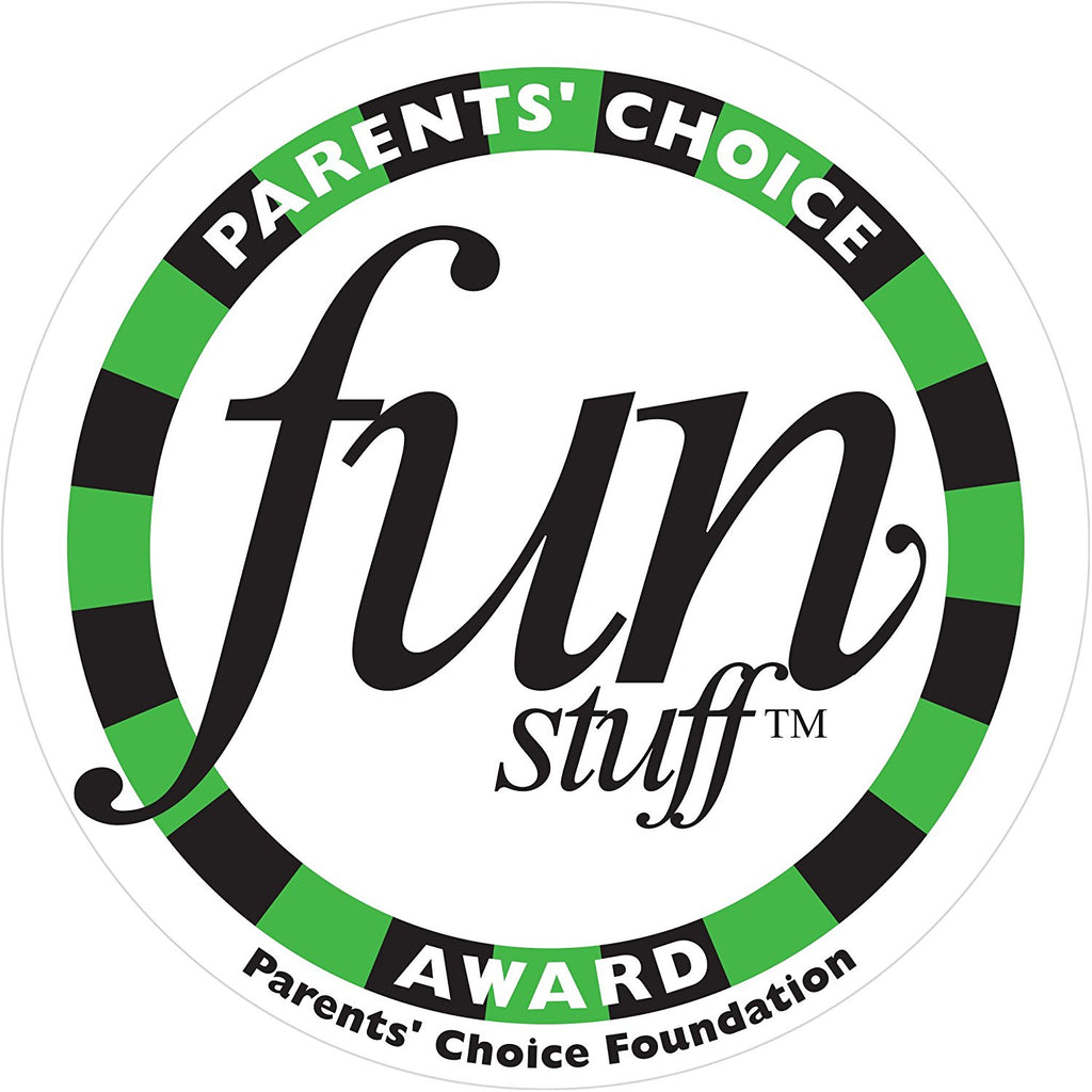 A PARENTS' CHOICE FUN STUFF™ AWARD WINNER - 2018
