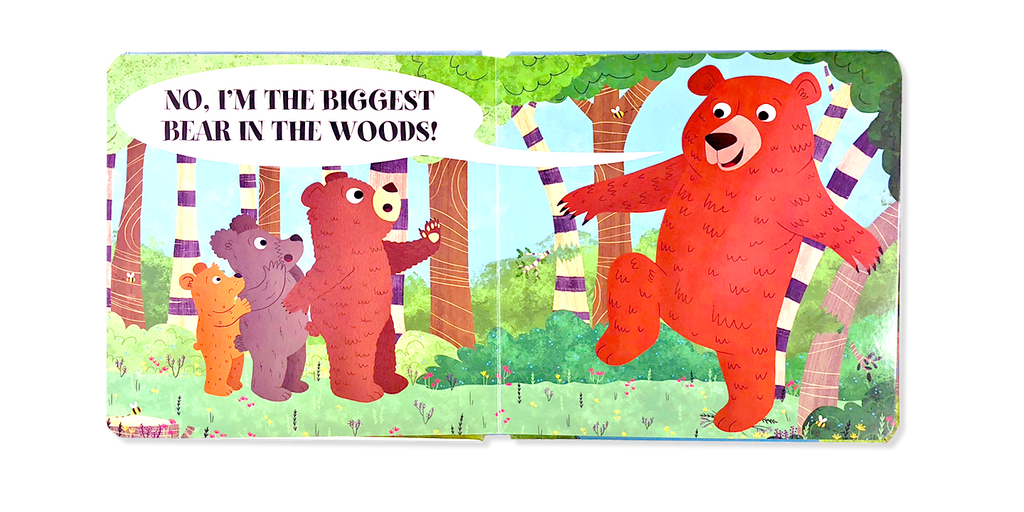 Little Hippo Books Biggest Bear Woods children's book