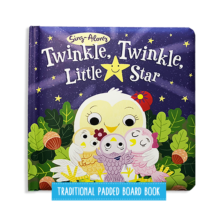 Little Hippo Twinkle Twinkle Little Star children's book