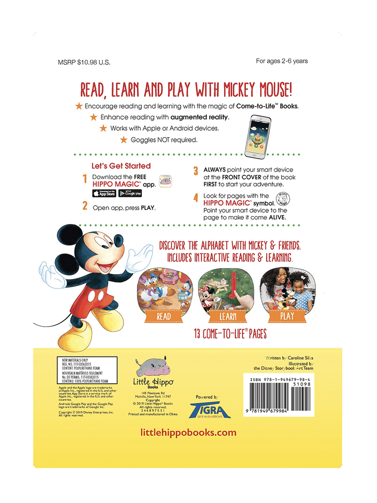ABC Fun with Mickey - Come-to-Life