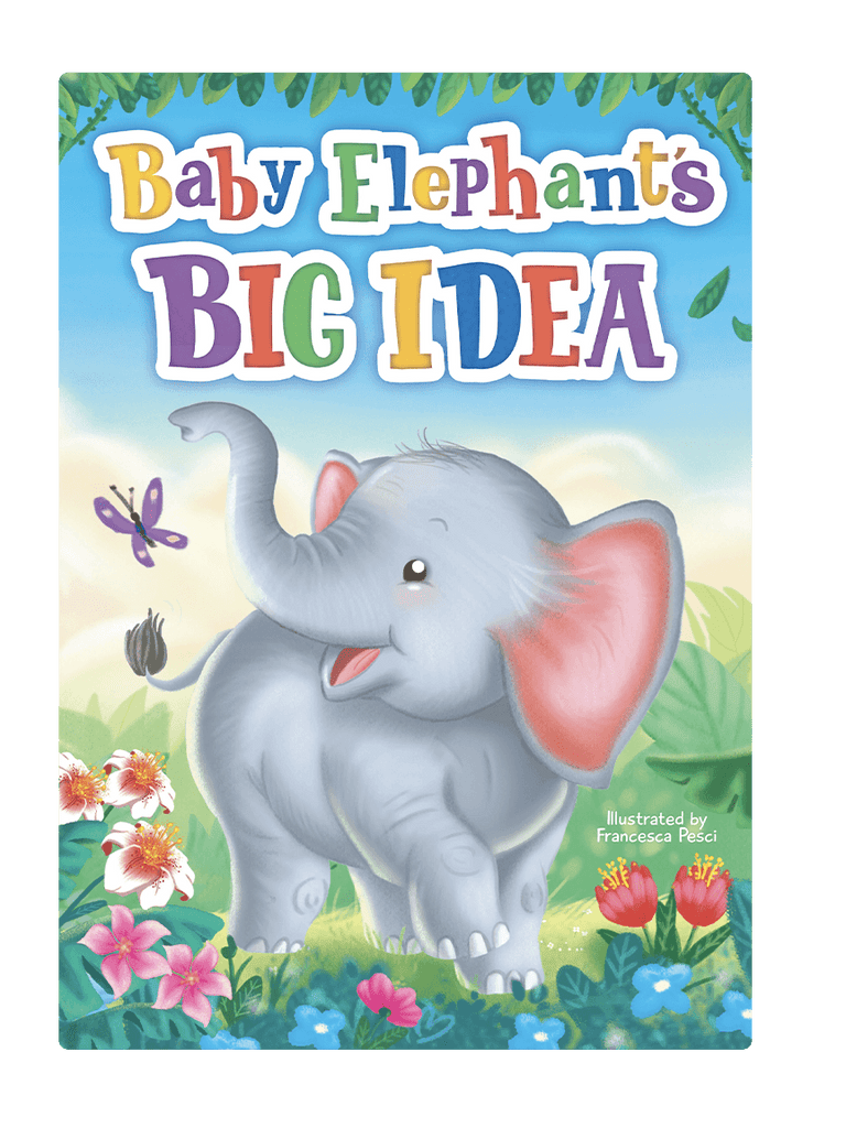 Baby Elephant's Big Idea by Little Hippo Books