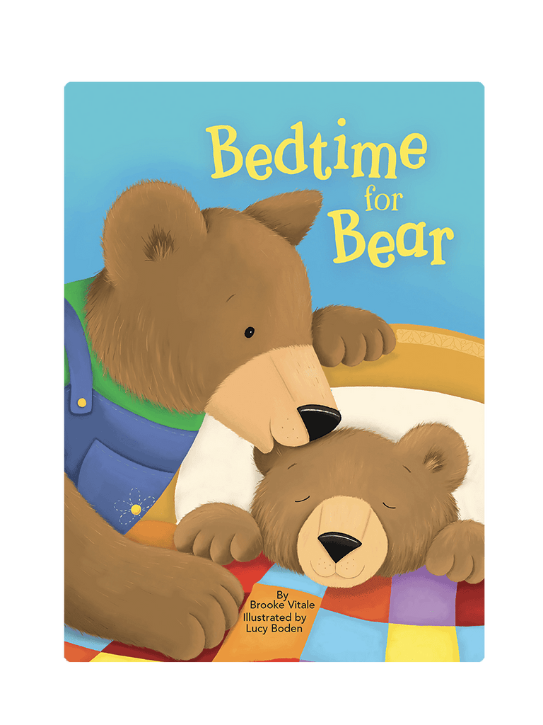 Bedtime for Bear Love Little Hippo Books Children's Padded Board Book Bedtime Story family