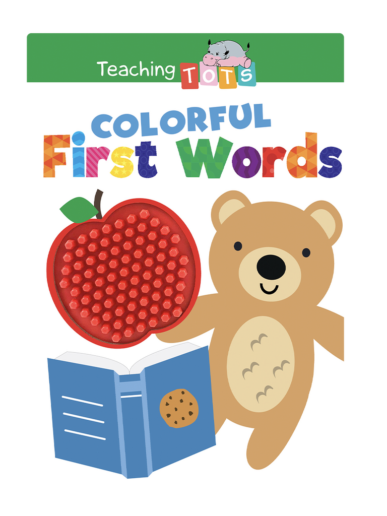 Little Hippo Books Teaching Tots Colorful First Words