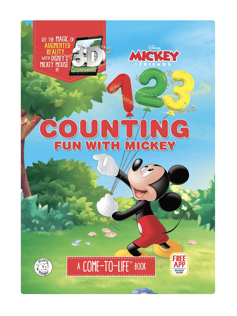disney mickey mouse counting little hippo books augmented reality learning