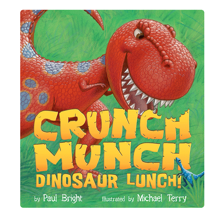 Little Hippo Crunch Munch Dinosaur Lunch! Padded Board Children's Book bedtime