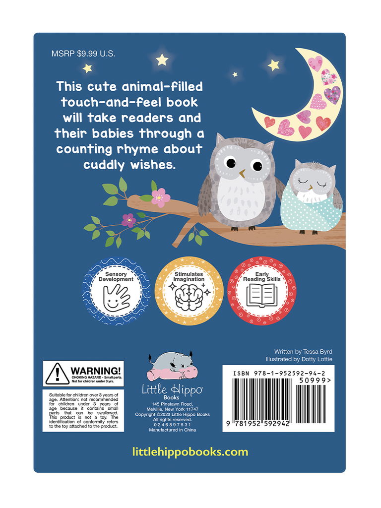 Cuddly Wishes by Little Hippo Books
