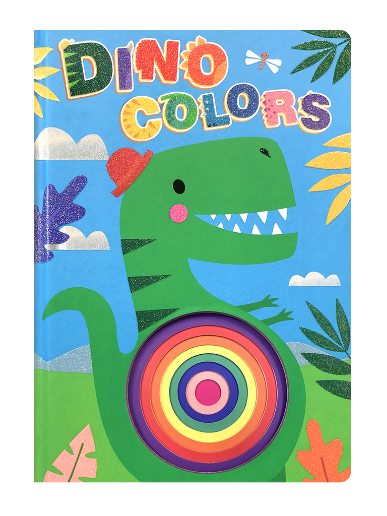 Little Hippo Concentric Books Dinosaur Colors