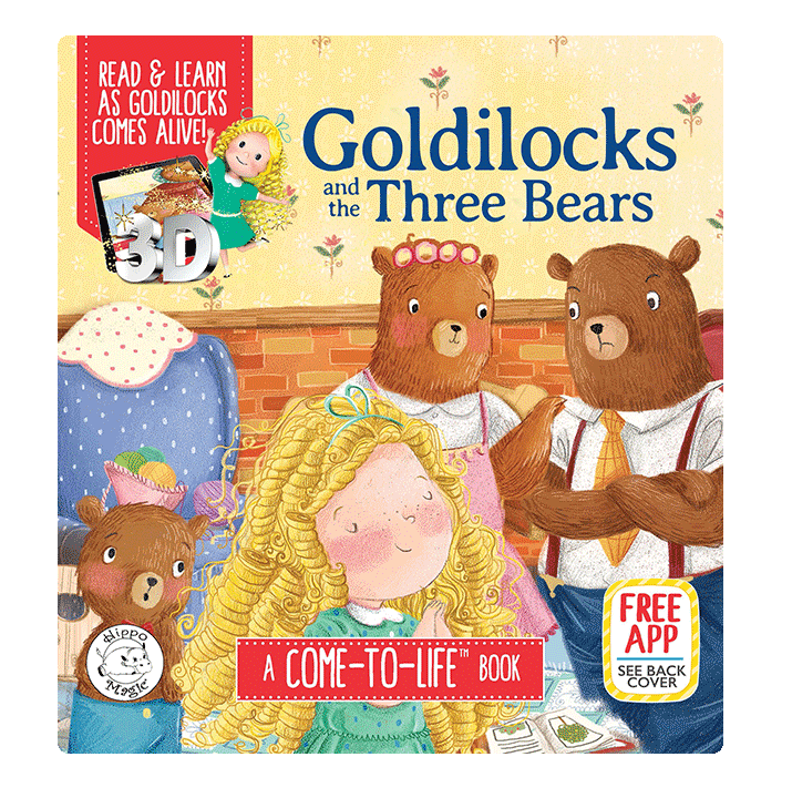 little hippo books classic bedtime padded board book children fairy tale goldilocks