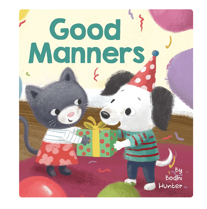 little hippo books manners children's board book