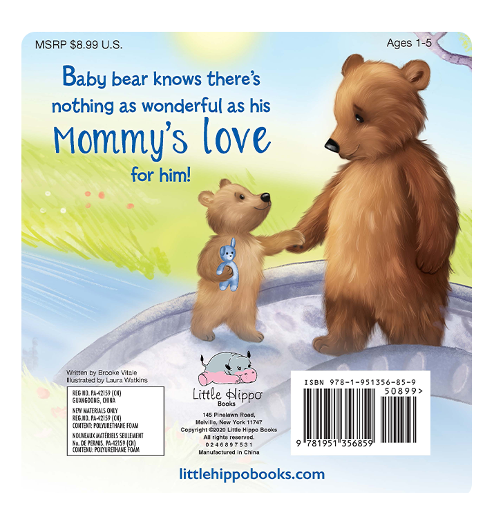 I Love You, Mommy - Little Hippo Books