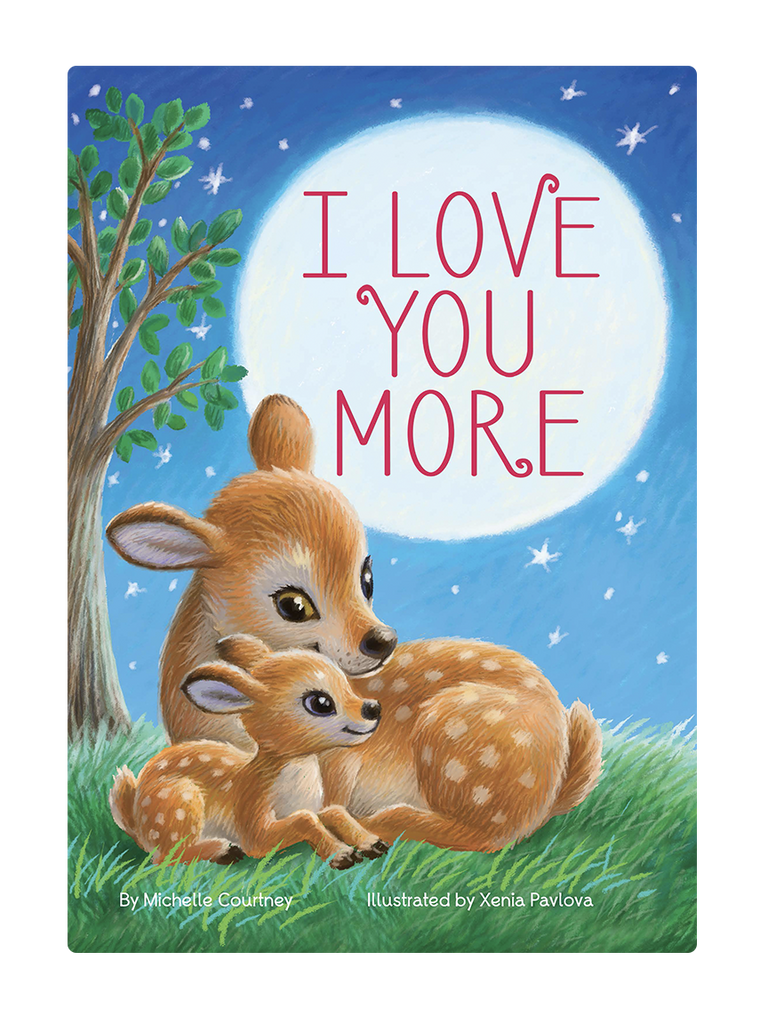 I Love You More Little Hippo Books Children's Padded Board Book Bedtime Story family