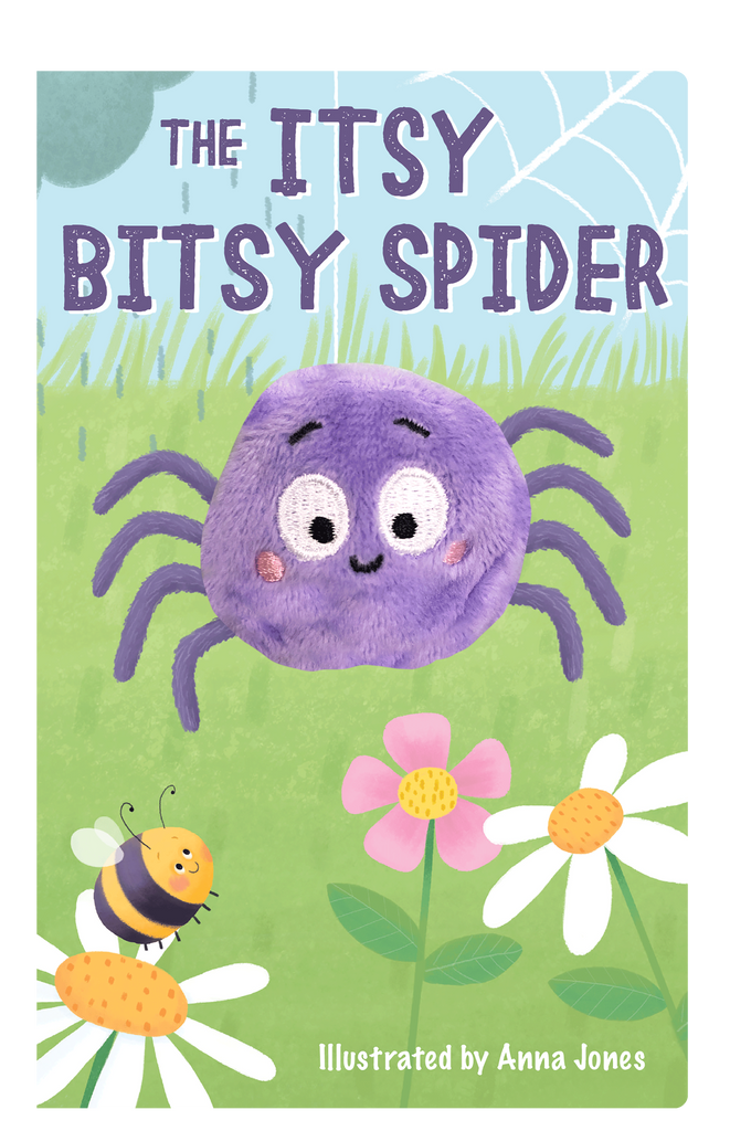 The Itsy Bitsy Spider Oversized Finger Puppet Book