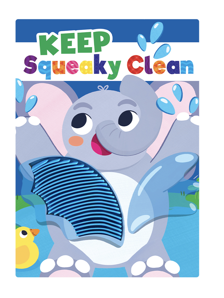 Little Hippo Books Keep Squeaky Clean Hygiene