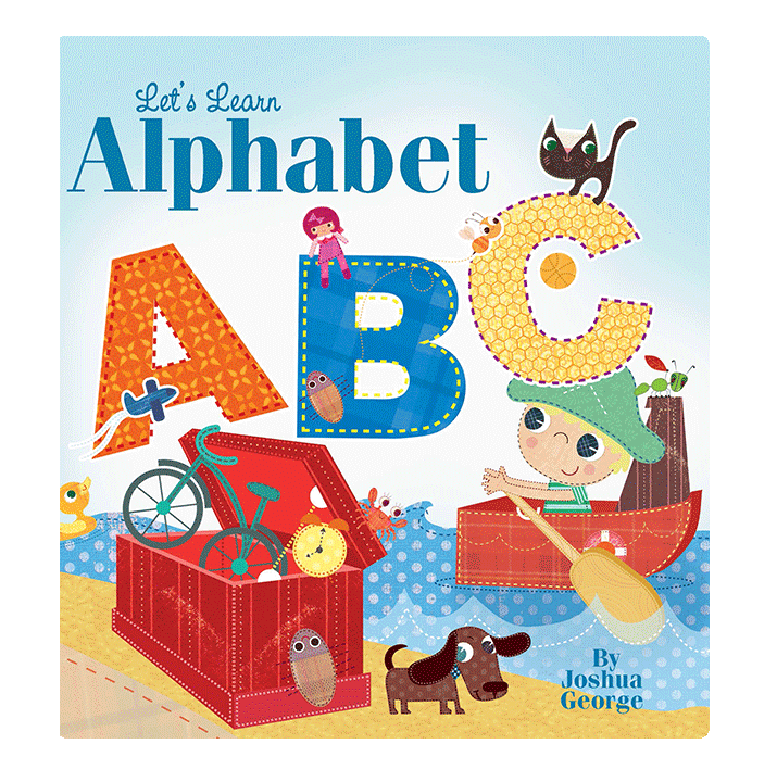 little hippo books alphabet abc learning padded board book children