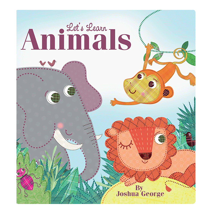 little hippo books animals learning padded board book children