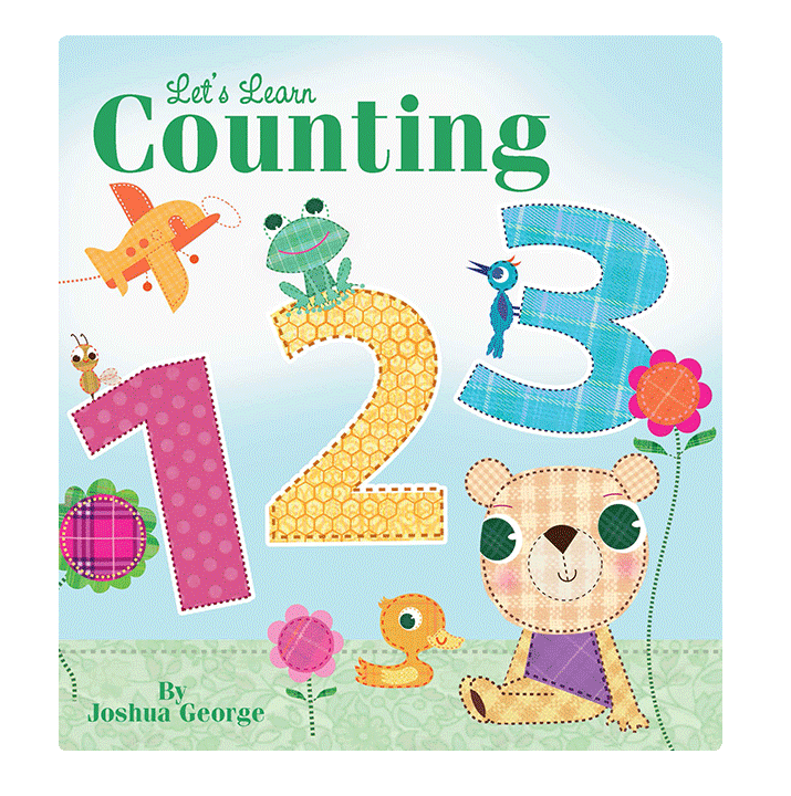 little hippo books counting 123 learning padded board book children