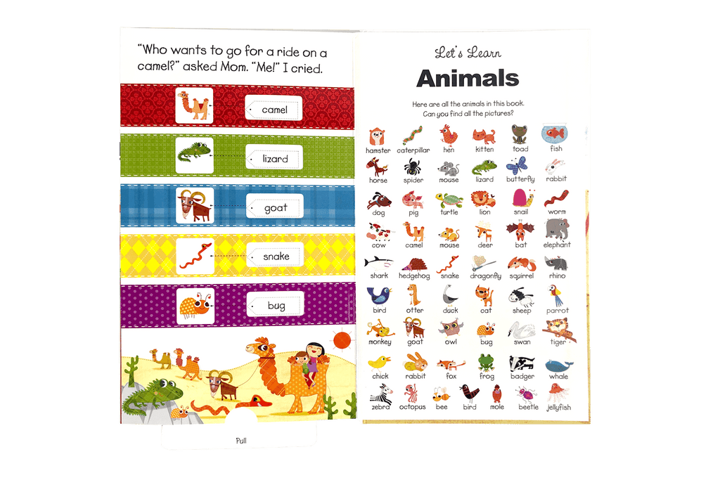 little hippo books animals learning board book children