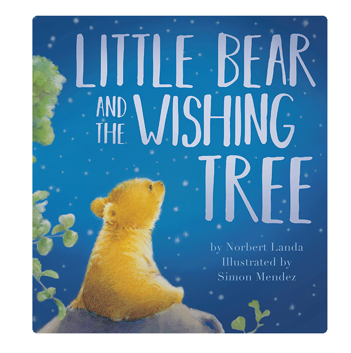 Little Hippo Little Bear and the Wishing Tree Padded Board Children's Book bedtime magic