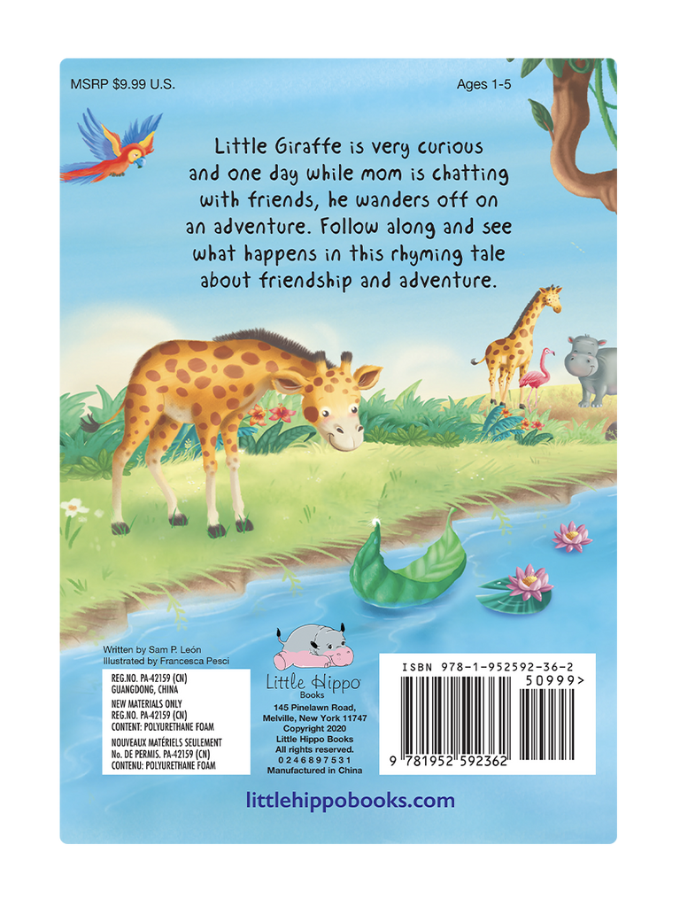 Little Giraffe's Adventure by Little Hippo Books