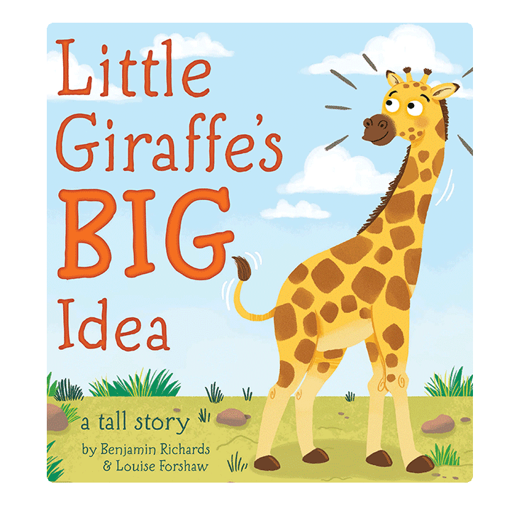 little hippo books giraffe accepting others padded board book