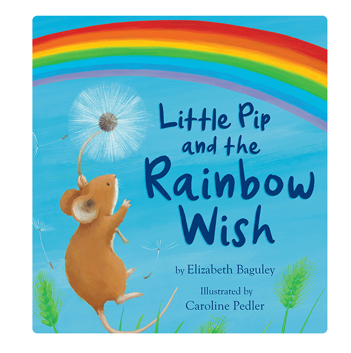 Little Hippo Little Pip and the Rainbow Wish Padded Board Children's Book friendship