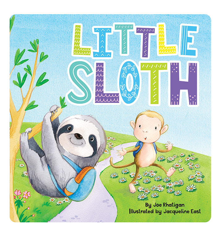 Little Sloth Little Hippo Books Children's Padded Board Book bedtime learning friendship love family
