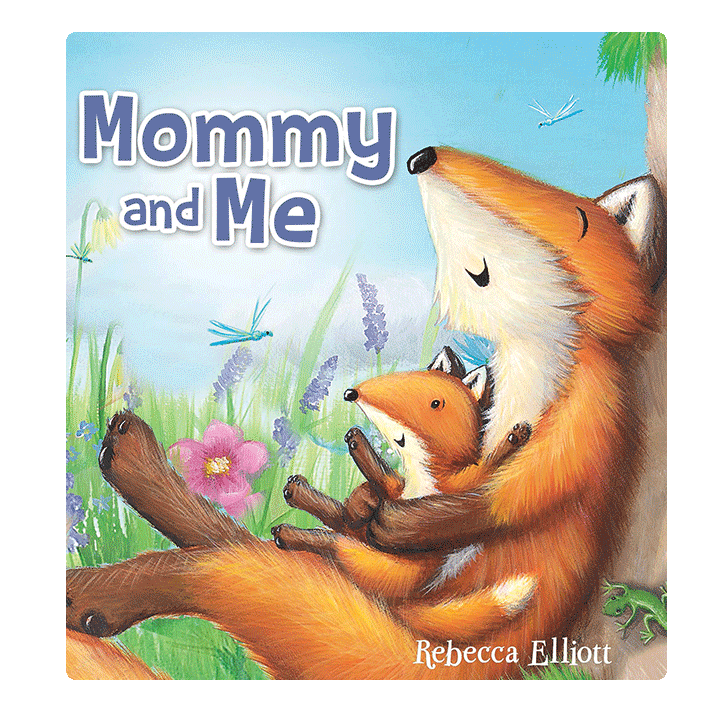 Little Hippo Mommy and Me Padded Board Children's Book family love