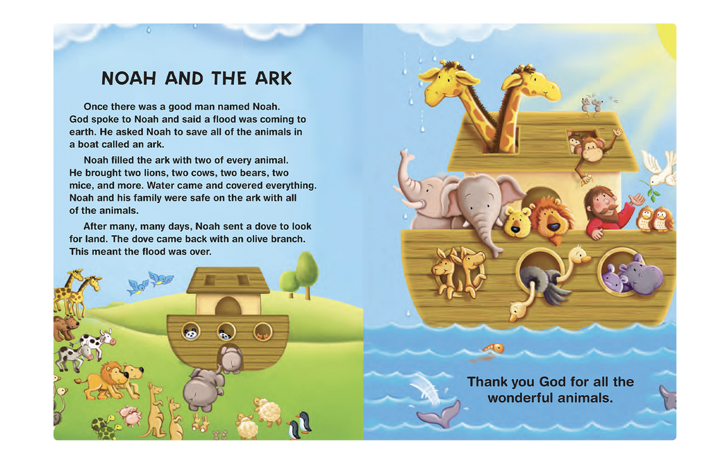 My First Book of Bible Stories Little Hippo Books Children's Padded Board Book Bedtime Story religious