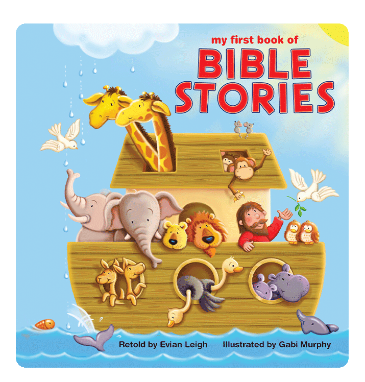 My First Book of Bible Stories Little Hippo Books Children's Chunky Padded Board Book Bedtime Story family religious