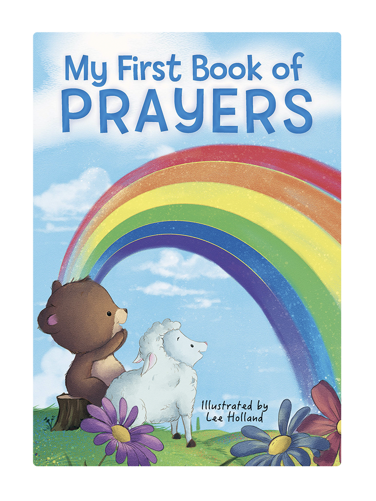My First Book of Prayers Little Hippo Books Children's Chunky Padded Board Book Religious Story family