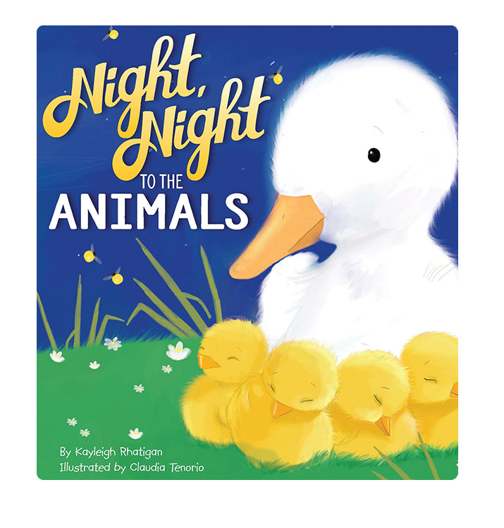 Night Night to the Animals Little Hippo Books Children's Padded Board Book Bedtime Story family  animals