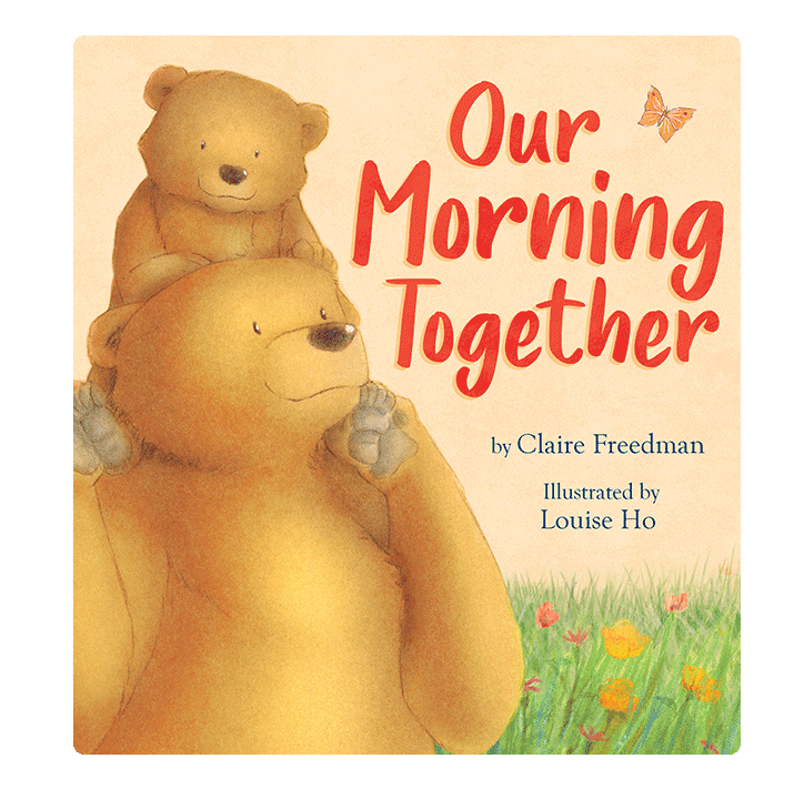 Little Hippo Our Morning Together Padded Board Children's Book family love mom
