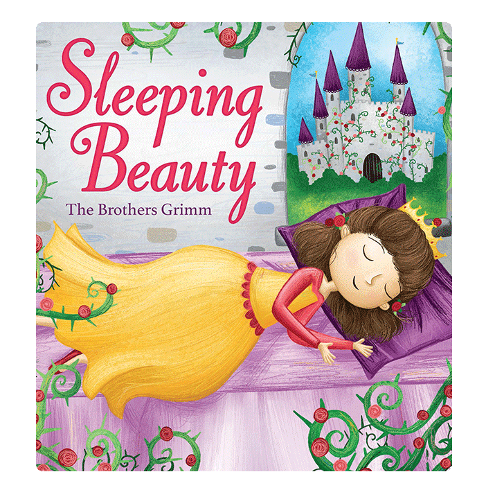 little hippo books classic bedtime padded board book children fairy tale sleeping beauty