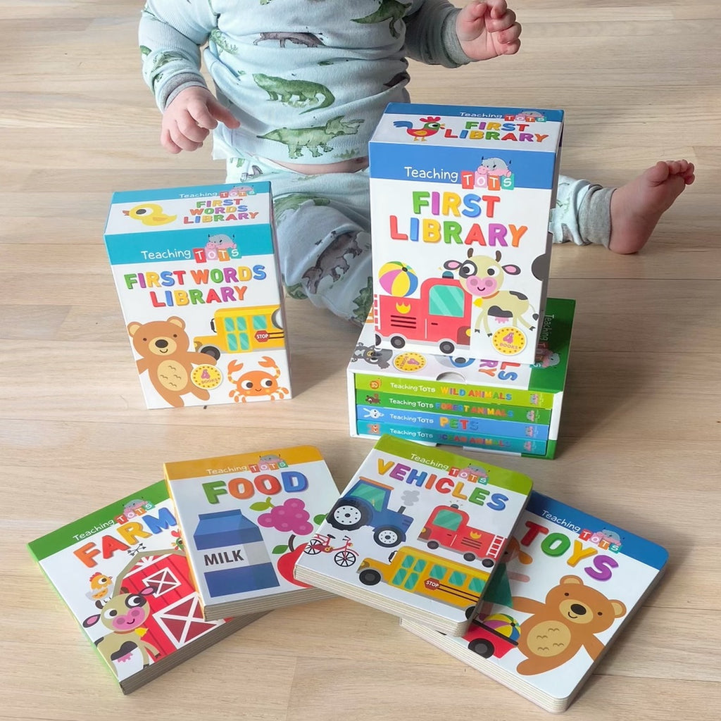 Teaching Tots Animals First Library learning education teaching girls boys homeschool