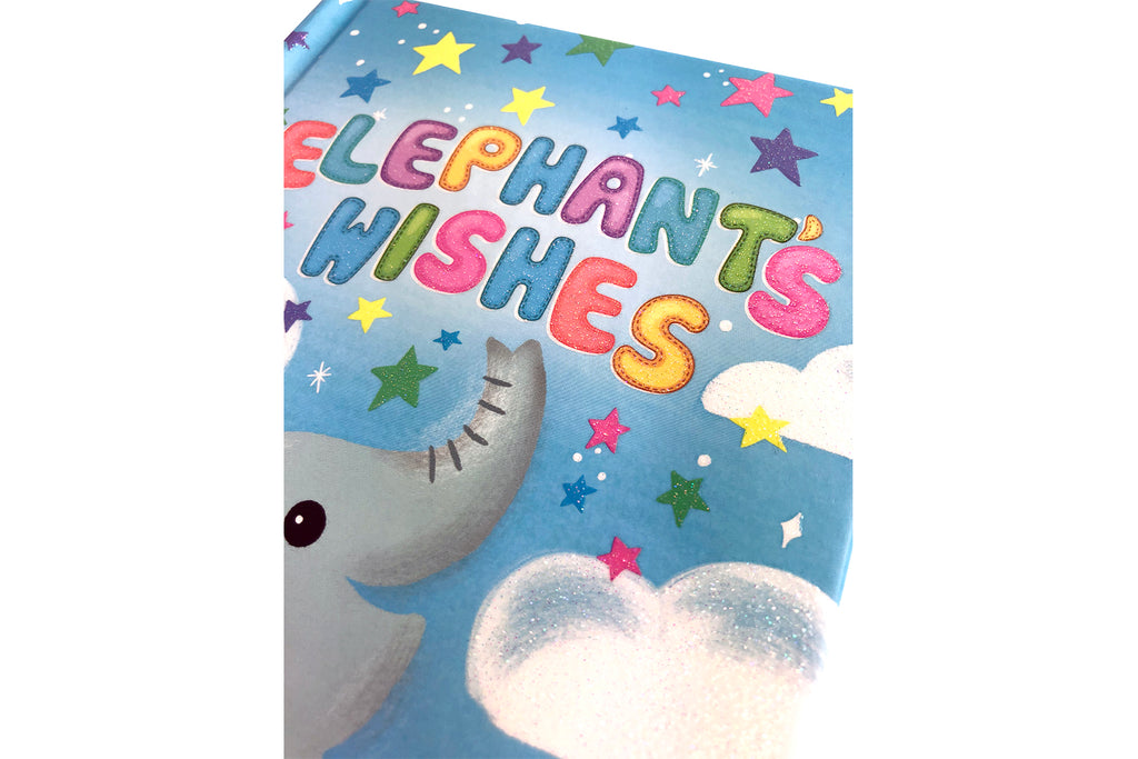 Little Hippo Books Elephant Wishes family baby sparkle mom love bed sleep