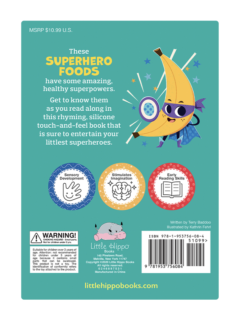 Superhero Foods by Little Hippo Books